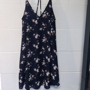 LUSH Spaghetti straps flower dress